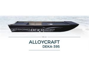 Alloycraft Jon Boat deka 395