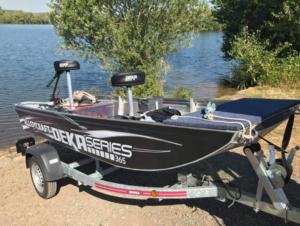 Alloycraft Jon Boat deka 365